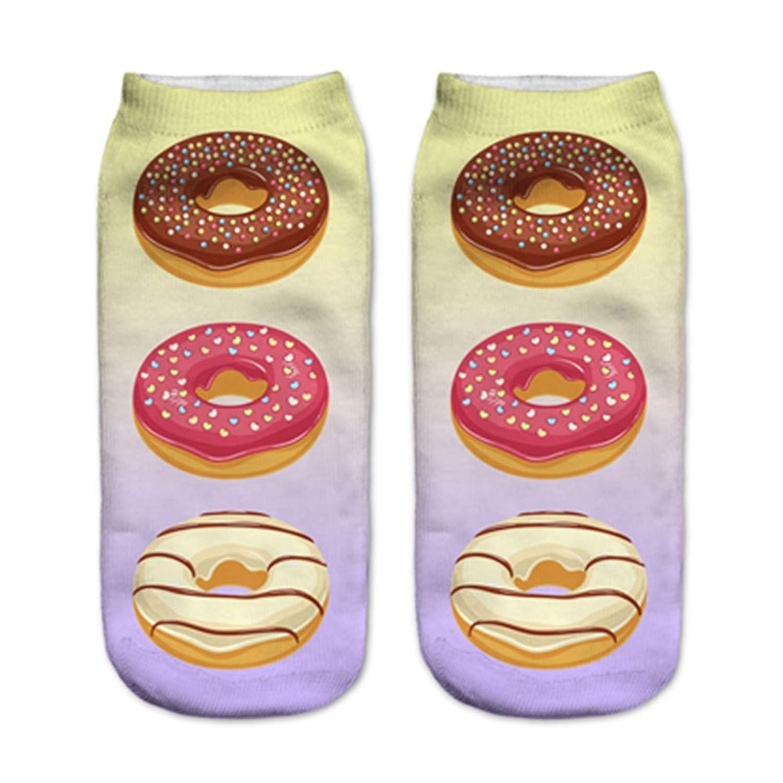 Doxi Cute Animal Print Crew Socks Hot Selling Ankle Socks Free Size