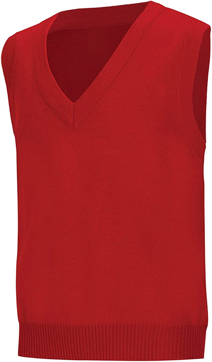B008EVNDEC Classroom School Uniforms Men's Adult Unisex V-Neck Sweater Vest 61QaiQPhBFL