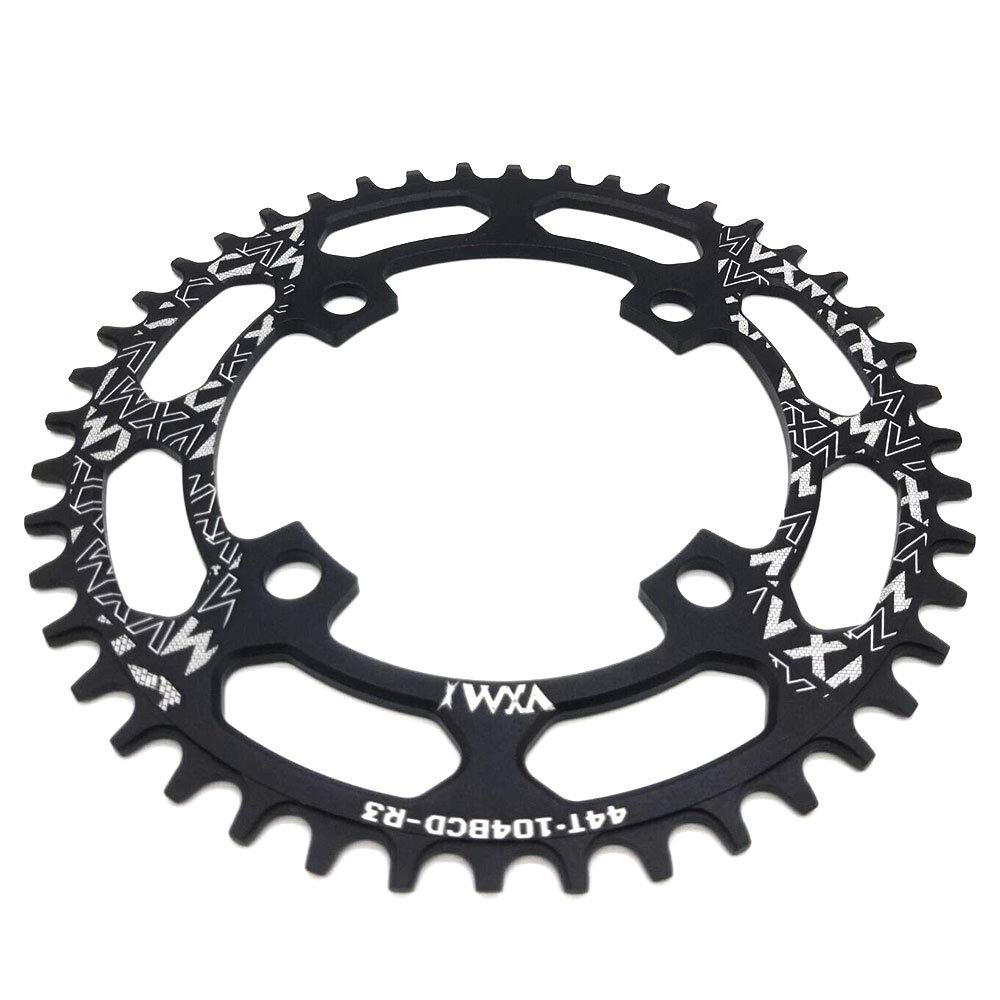 48T VXM 104BCD Chainring 40T 42T 44T 46T 48T 50T 52T【2019 CNC 7075-T6 Aluminum】 Narrow Wide Chain Ring for Road Bike,Mountain Bike,BMX Bike,MTB Bike Parts MTB Bike Parts LH40-52T