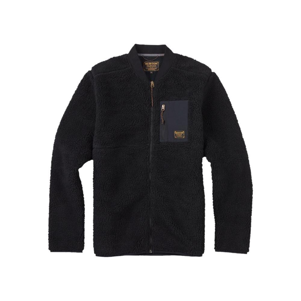 Burton Men's Grove Full-Zip Fleece, True Black, Small