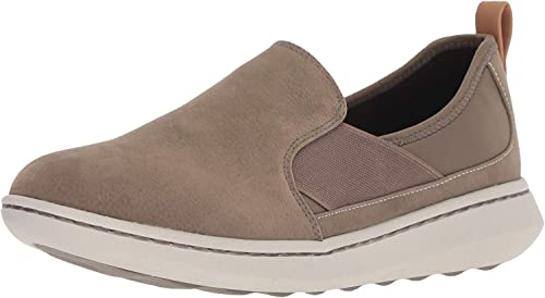 Clarks Women's Step Move Jump Sneaker, Sage Synthetic, 065 M