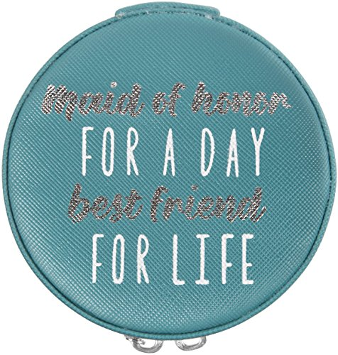 Pavilion Gift Company Maid of Honor for a Day Best Friend for Life Jewelry Case