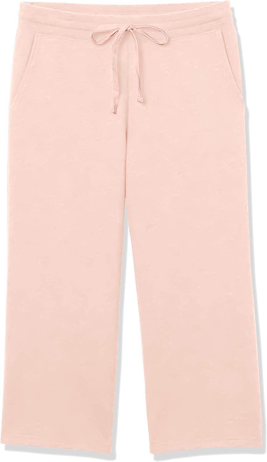 Essentials Athletic-Pants Donna Pantaloni in Pile A Gamba Larga French Terry
