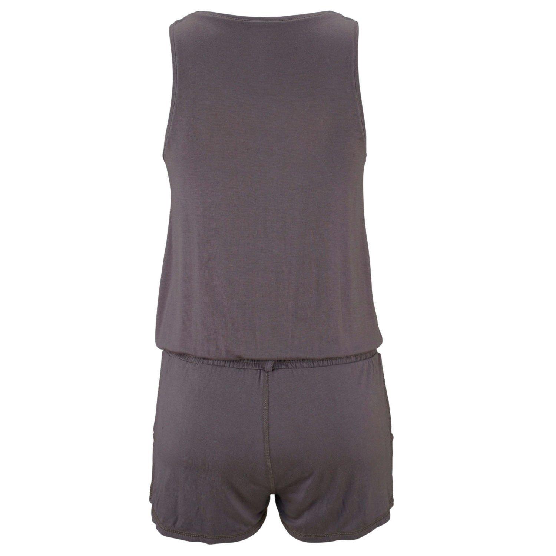 Casual Shorts Jumpsuit Leisure Playsuit Petite Girl Sleeveless Beachwear
