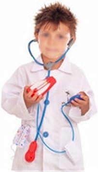 EZSTAX Disfraz de Médico para Niños de Halloween: Amazon.es ...