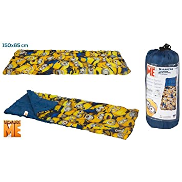 ColorBaby - Saco de Dormir, diseño Minions, 65 x 150 cm (76588): Amazon.es: Juguetes y juegos