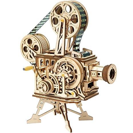 EP-Toy Modelo de Rompecabezas de Madera de Corte por láser en 3D ...