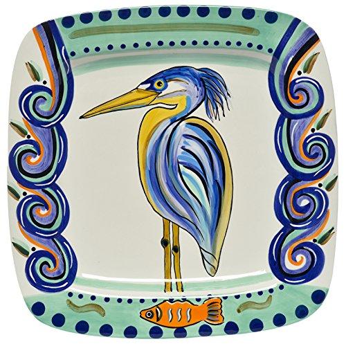 Ceramic Heron Plate