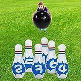 SUNSHINEMALL Giant Inflatable Bowling Game Set