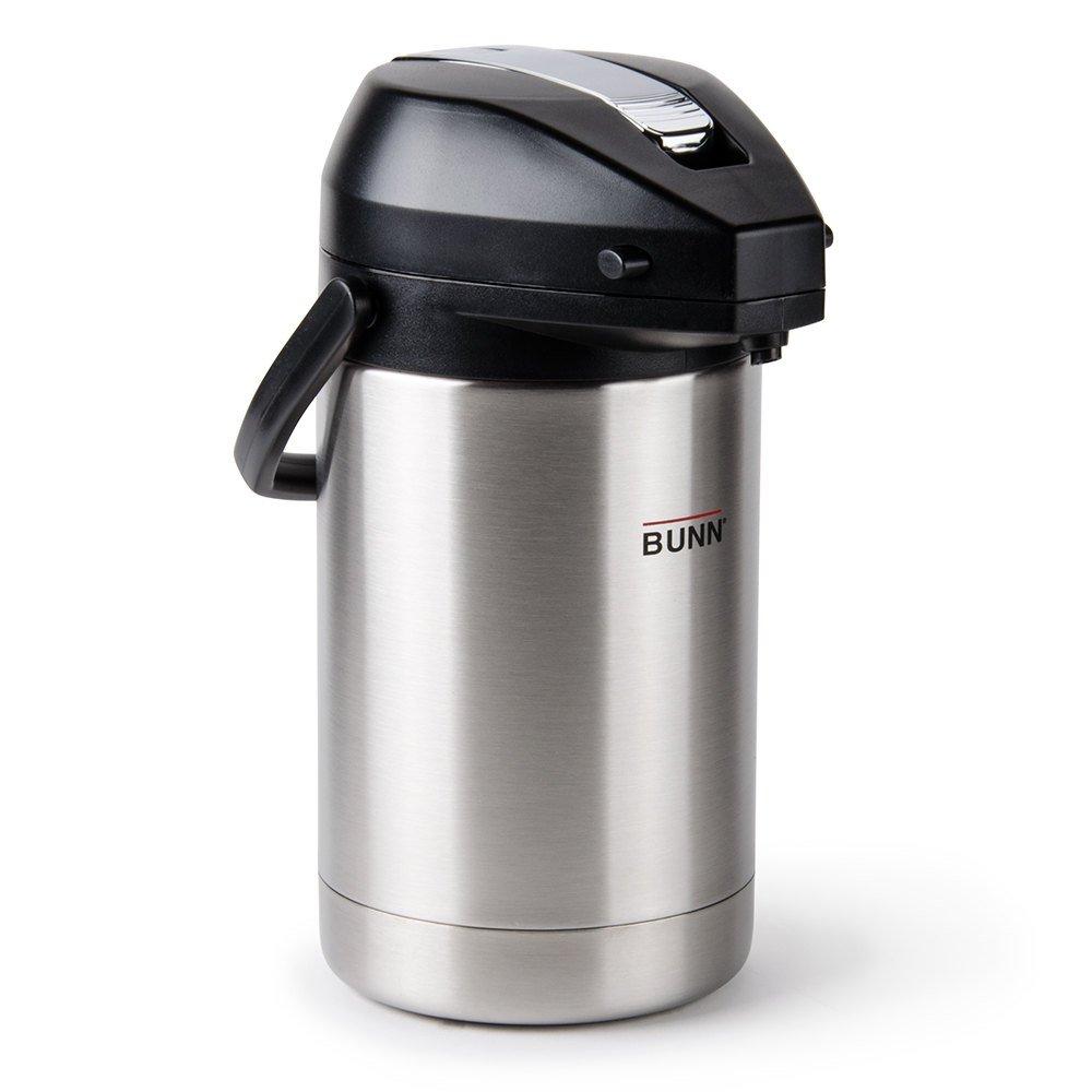 Bunn 13041.0001 2.5 Liter Lever-Action Glass Liner Airpot Dispenser