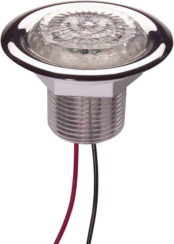 Innovative Lighting LED Recess Mount Starr Light with Stainless Steel Trim Ring