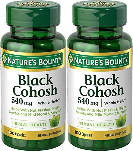 Natures Bounty Natural Cohosh Capsules