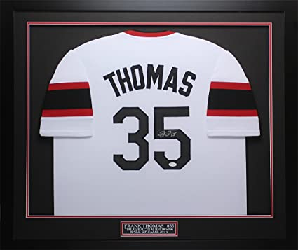detailed look 5aae0 a5fa0 Frank Thomas Autographed White White Sox Jersey ...
