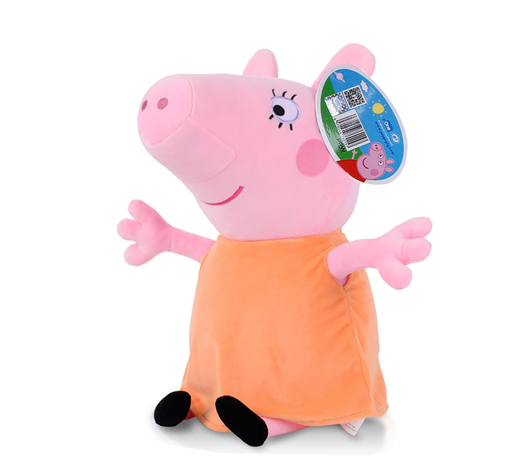 Peppa Pig Characters,Original Soft Toys:Daddy,Mummy,Peppa &George Pig Available (Mummy Pig)