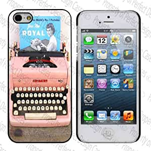 Cute Pink Typewriter Iphone 4/4s Case
