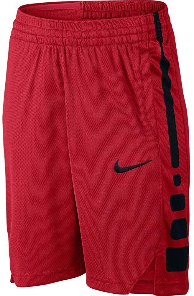 Nike Boy's Dry Basketball Shorts (Red, Medium) by Nike