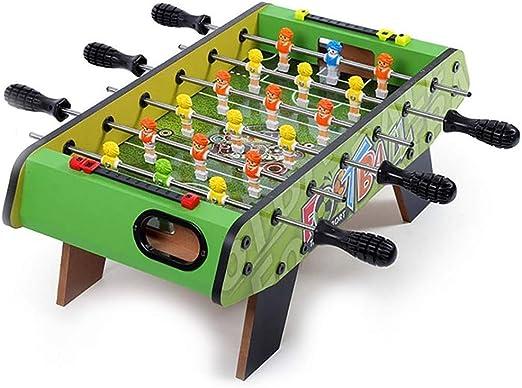 Futbolines Doble Fútbol mesa consola de juegos entre padres e hijos de mesa de fútbol infantil de fútbol Máquina juguete interactivo de escritorio Juego de mesa (Color : Green , Size :