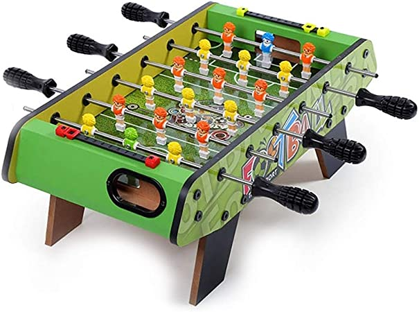 Futbolines Doble Fútbol mesa consola de juegos entre padres e hijos de mesa de fútbol infantil
