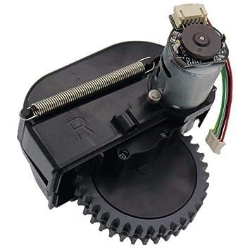 SODIAL Rueda Derecha Piezas De Robot Aspiradora Accesorios para Ilife V3S Pro V5S Pro V50 V55 Robot Aspiradora Ruedas Motores: Amazon.es: Hogar