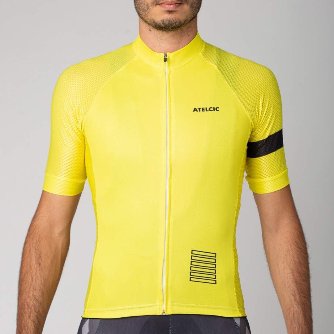 Atelcic Maillot de cyclisme VTT Spinning Cyclisme de route Maillot de cyclisme /à manches courtes pour homme et femme