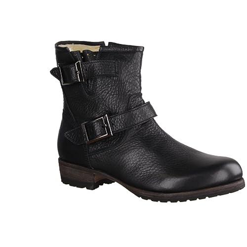 Fur Blackstone Isabella Biker Damen Boots htsQCdrx