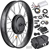 AW 22.5' Electric Bicycle Front Wheel Frame Kit for 26' 48V 1000W 470RPM E-Bike