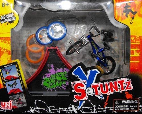 X Stuntz Finger Bike & Ramp