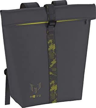 a5da76dfde adidas Messi BP Q4 Sport Bag - Grey Grey Yellow  Amazon.co.uk ...