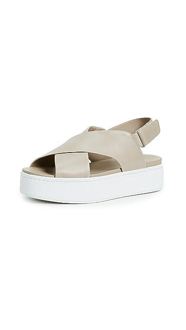 b4058a3cc0d1f8 Amazon.com  Vince Women s Weslan Crisscross Flatform Sandals  Shoes