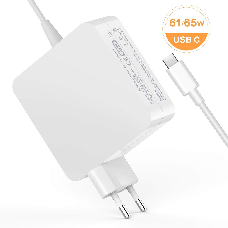 Cable de Carga USB C 61 W Laptop Cargador USB C Power ...