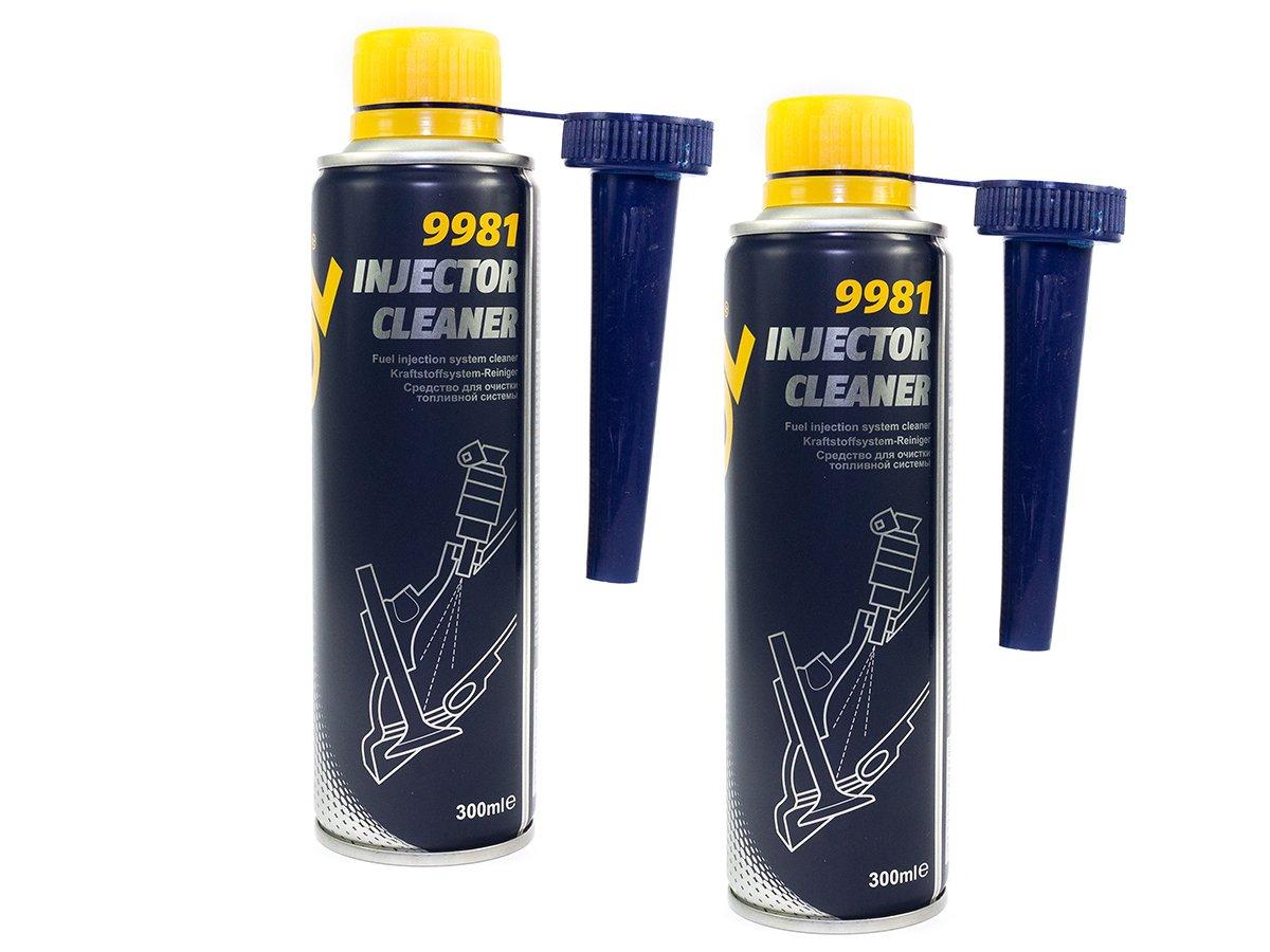 MANNOL Injector Cleaner Kraftstoff Additiv 2 Stück á 300 ml