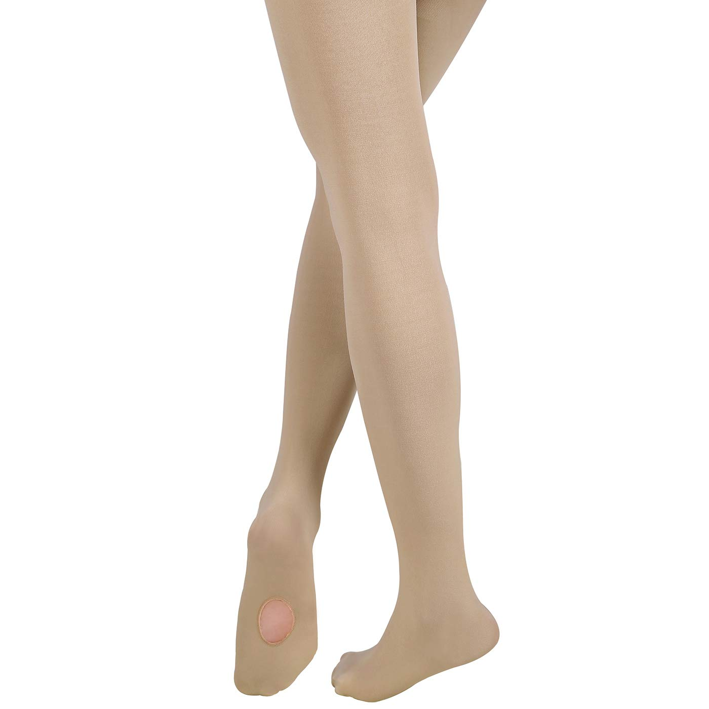 HDE Dance Tights for Girls Ultra Soft Convertible Transition Ballet Tights