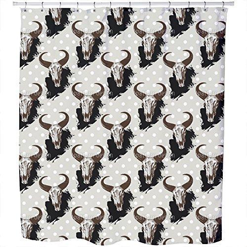 Uneekee El Torres Shower Curtain: Large Waterproof Luxurious Bathroom Design Woven Fabric by uneekee