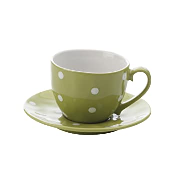 Maxwell and Williams Sprinkle Cup and Saucer Lime  sc 1 st  Amazon.com & Amazon.com | Maxwell and Williams Sprinkle Cup and Saucer Lime ...