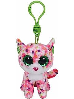 Amazon.com: Ty Beanie Boos - LEEANN the Pink Lemur (Glitter ...