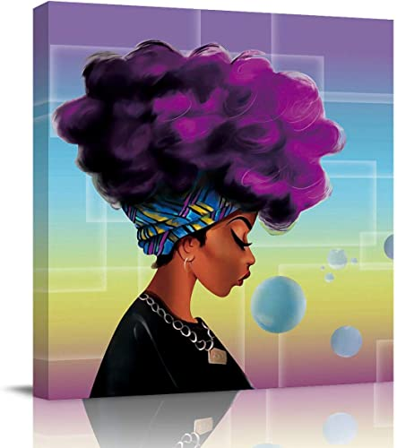 Sailground Canvas Wall Art Abstract Traditional African Black Women