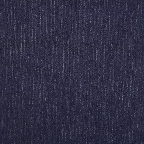 2 Yards of Ribbed Stretch Denim Fabric - Navy
