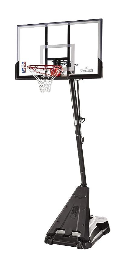 Spalding NBA Hercules Portable Basketball Hoop - 54 quot  Acrylic Backboard ee20b3cc9