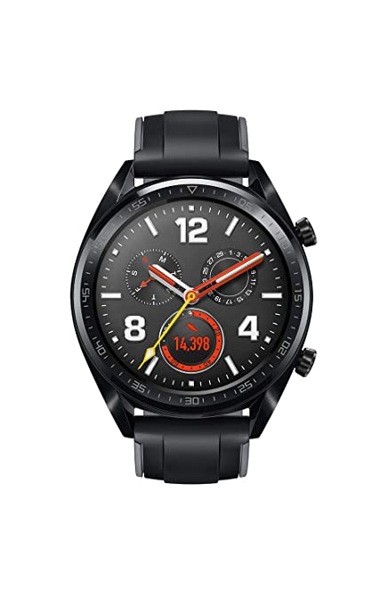 2136d6dbd Amazon.in  Buy Huawei Watch GT Fortuna-B19S Sport (Black) Online at ...