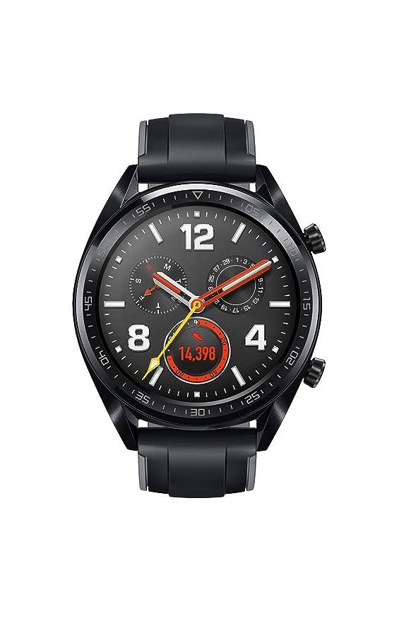 Huawei Watch GT Fortuna-B19S Sport (Black): Amazon.in: Computers & Accessories