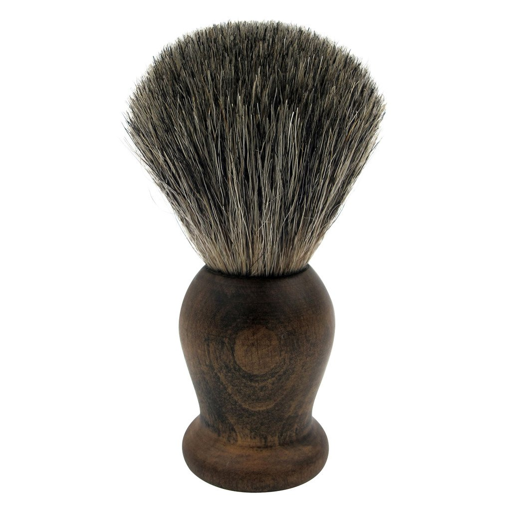 WEISHI Shaving Brush, 100% Pure Mixed Badger with Rosewood Wooden Handle shaving brush