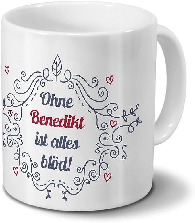Tasse mit Namen Benedikt Motiv Wenn Benedikt es nicht weiß...