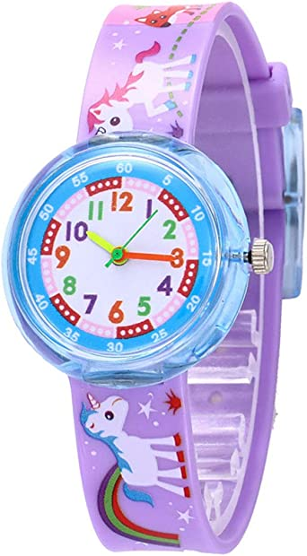 PVC Rubber Cartoon Mermaid Princess Kids Rings Children Silicone Ring Toys techR