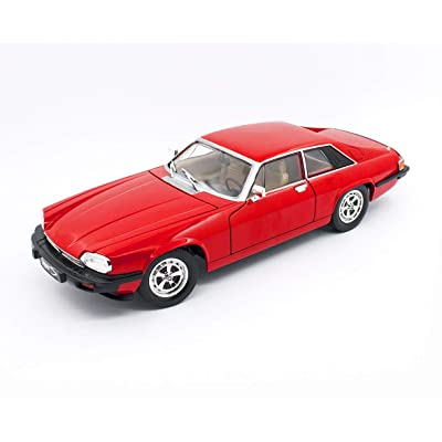 1975 Jaguar XJS Coupe Red 1/18 Diecast Model Car by Road Signature 92658: Toys & Games