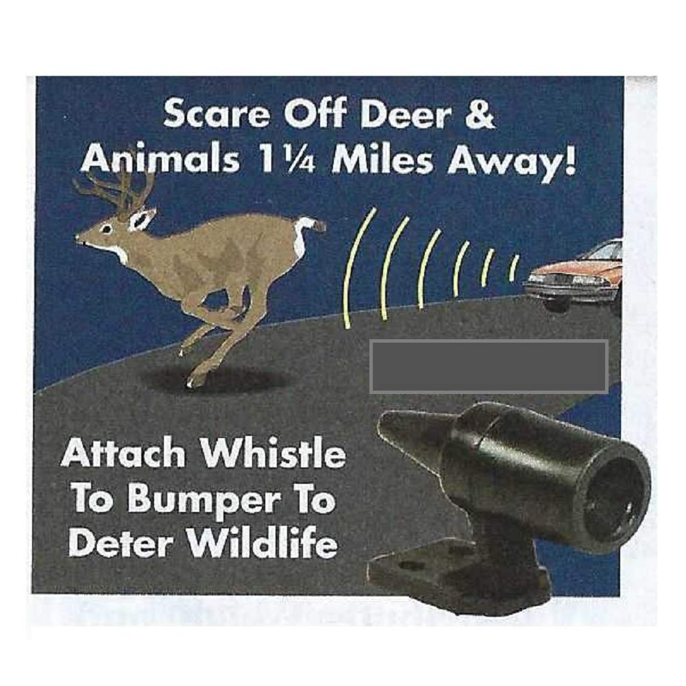 Wildlife Warning Device,Ultrasonic Animal Warning Alarm,Vehicle Deer Alert Whistles,Avoids Wildlife Animals Deer Collisions Car Warning for Auto,Motorcycle,Truck,SUV and ATV