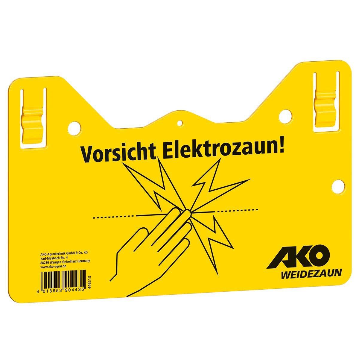 """1 x Warnschild /"""" Vorsicht Elektrozaun /""""  Schild  Weidezaun"""