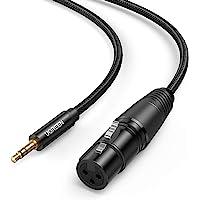 UGREEN Cable 3.5mm a XLR hembra, Cable XLR de Audio, Adaptador XLR a 3.5mm para Micrófono, Altavoz, Amplificador, Cámara…