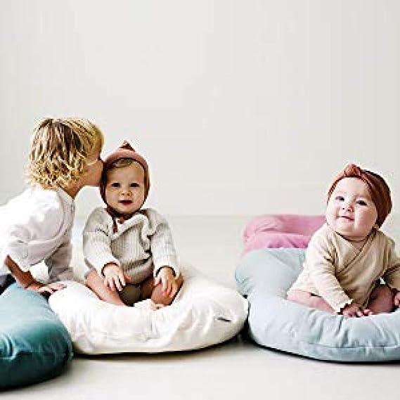Anti-Allergique,pour Les Nourrissons Et Les Tout-Petits 0-24 Mois,Multifonction Lit De Voyage Lit Isol/é Nouveau-n/é,Grey JINGMEI Baby Nest,100/% Coton
