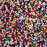 Sprinkle King Rainbow Non Pareils - Perfect Sweet Decorettes for Your Holidays And Special Occasions Baking Food Decoratives - 8Lb Box