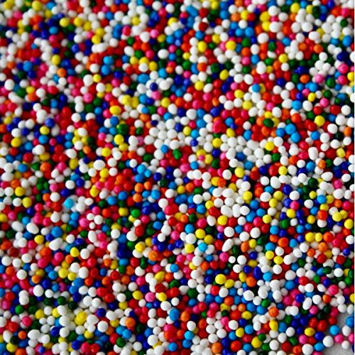 0bc0302b814 Sprinkle King Rainbow Non Pareils - Perfect Sweet Decorettes for Your  Holidays And Special Occasions Baking